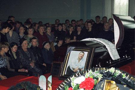 похороны михаил круг фото